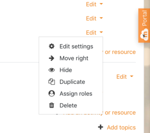 In Moodle, a student can be assigned the role of the teacher for an activity